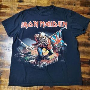 Iron Maiden The Trooper Tshirt - Eddie - Small